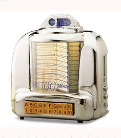 Crosley Radio CR10 Diner Tabletop Jukebox