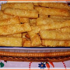 Snack Recipes, Snacks, Hungarian Recipes, Onion Rings, Apple Pie, Rum, Waffles, Muffin, Goodies