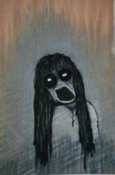 Scary Demon Girl