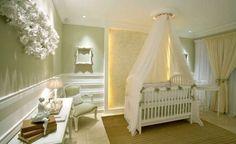 Décorez la chambre de votre bébé en vert
