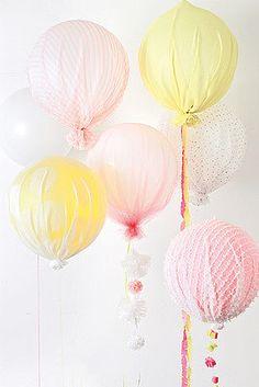 Upholstered Balloons