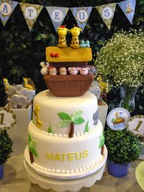 Muito lindinho essa festa de batizado com 1º aninho para o Mateus. a cerimonia foi realizada no jardim da casa da familia!                  ...