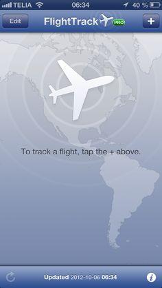 FlightTrack - Empty dataset