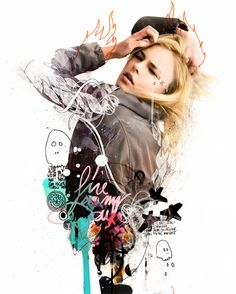 Fire in me by Raphael Vicenzi, via Behance, Brief 3
