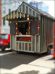 Food truck, Portland Oregon.