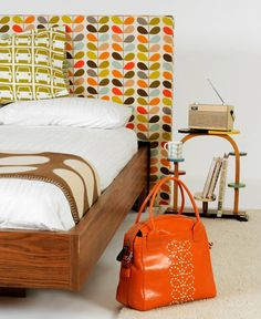 Cupboards Orla Kiely And Aqua On Pinterest
