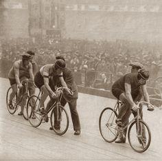 Critérium National d'Hiver de Demi-Fond, Vel' d'Hiv', Paris 1933