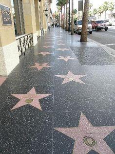 Walk along the Hollywood Walk of Fame #California #BucketList