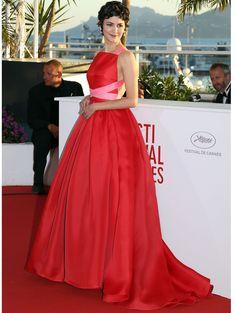 Audrey Tautou lors de la cérémonie de clôture du festival de Cannes en 2013.