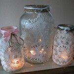 Beautiful Decorating Ideas Using Mason Jars