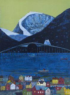 Gunn Vottestad - Bro over blått hav