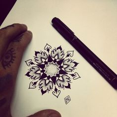 Currently obsessed with mandala tattoos