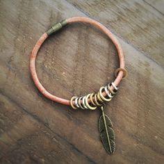 Stitch marker bracelet
