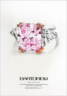 pink diamond ring by Bartorelli Maison