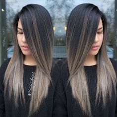 Image result for ash blonde balayage asian