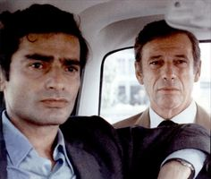 Charles Denner et Yves Montand, Z (1969) directed by Costas-Gavras