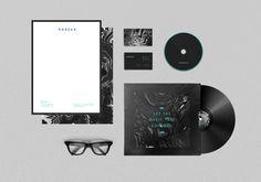 Brand identity and teaser campaign. Bureau night club. Daria Po