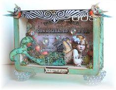 Paper Fairytale Blog of Debrina Pratt - artist/owner of Land of Enchantment: Hi everyone!