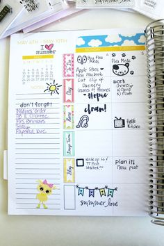 Using Stamps In Your Planner — Limelife Planners