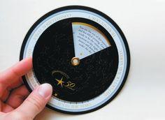 """Planetarium Event """"Starfinder"""" Invitation « Seam: Strategic Graphic Design"""