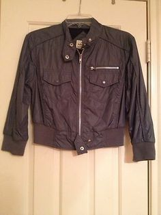 """Rose Tyler TOPSHOP Moto Jacket Size UK10 Doctor Who 