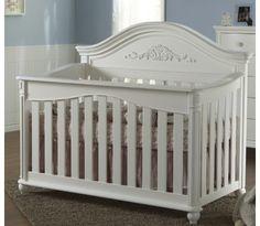 Gardena Forever Crib in White