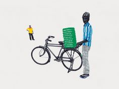 Recently the fascinating 'The Ghoda Cycle Project' was brought to our attention. The project is a visual document of the myriad avatars of bicycles in the rural and urban landscape of India by Mumbai-based illustrator Sameer Kulavoor, who works under the name Bombay Duck Designs. The linchpin of 'The Ghoda Cycle Project' is to lay … Continued