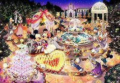 Disney Jigsaw Puzzle 1000 Piece Night Wedding Dream Shining TENYO JAPAN | Toys & Hobbies, Puzzles, Contemporary Puzzles | eBay!