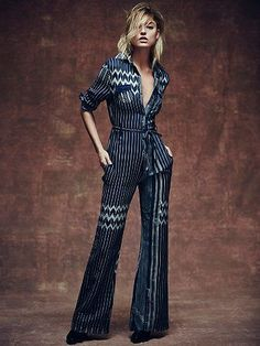 Not quite sure who can pull this off but still pretty cool looking - Free People Chrysler Jumpsuit