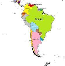 sudamerica mapa - Buscar con Google