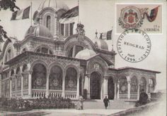 Serbia's Pavilion at Paris Expo in 1900