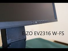 Eizo EV2316 W FS unboxing and First Look