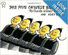 The Five Chinese Brothers (Paperstar): Claire Huchet Bishop, Kurt Wiese: 9780698113572: Amazon.com: Books