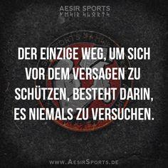 ...was keine Option ist. Wenn du etwas erreichen willst, musst du bereit sein zu riskieren.  www.AesirSports.de  #inspiration #motivation #fitness #muskelaufbau #lifedomination #aesirsports