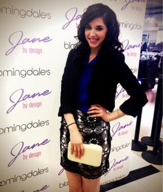 Jane by Design's Erica Dasher at Bloomingdale's