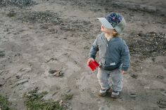 I love watching my kid wander with this one of a kind hat from Blowfish Designs