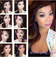 Contouring Step by Step. Amazing Work!!