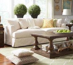 Cloud Grand Slipcover Sofa by BeModern