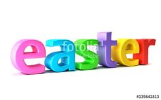 """Download the royalty-free photo """"Easter Season . 3D Render Illustration"""" created by Fotolia365 at the lowest price on Fotolia.com. Browse our cheap image bank online to find the perfect stock photo for your marketing projects!"""