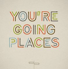 Reminds me of Dr. Seuss and oh, the places you'll go.  love