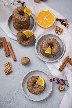 Rezeptideen Wiener Zucker Donuts, Cupcakes, Doughnut, Food And Drink, Cookies, Orange, Breakfast, Desserts, Advent