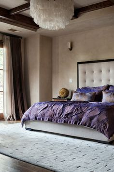 Cord Shiflet Modern Mediterranean mediterranean bedroom... looks like a good place to play! ;)