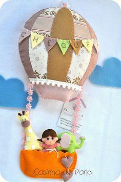 Balão porta de maternidade | Flickr: Intercambio de fotos