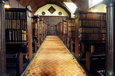 Merton College Library, Oxford UK