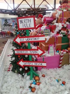 our North Pole sign