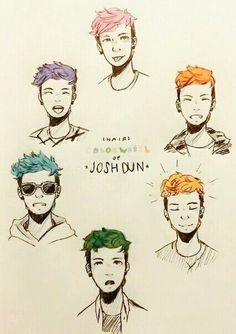 Josh dun clique art |-/