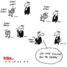 Affaire Bygmalion : le morpion des élections - Dessin du jour - Urtikan.net