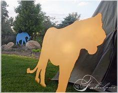 cardboard animals safari party. An Unbelievable Safari Adventure! - Design Dazzle