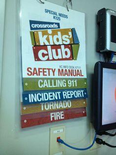 DIY Safety Manual | Kids Ministry Leadership