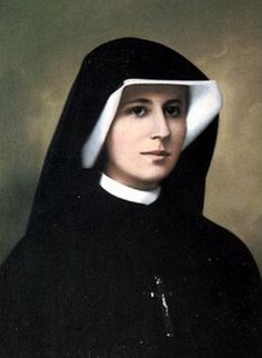 "St. Mary Faustina Kowalska, ""Apostle of Divine Mercy"". Feast Day: October 5. Divine Mercy Sunday is the Sunday after Easter Sunday. Jesus, I trust in You."